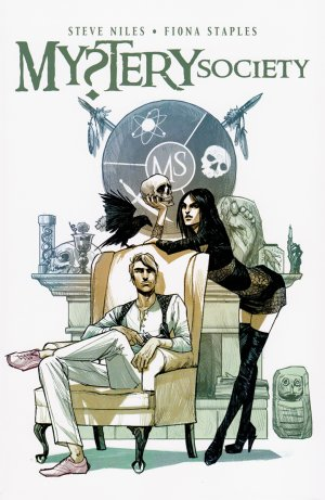 Mystery Society édition TPB softcover (souple)