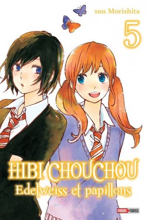 couverture, jaquette Hibi Chouchou - Edelweiss et Papillons 5  (Panini manga)