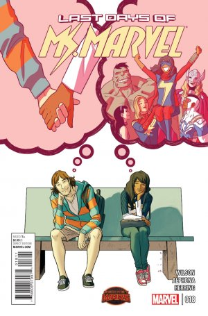 Ms. Marvel 18 - Last Days Part Three
