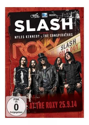 Slash ft. Myles Kennedy & The Conspirators- Live at the Roxy édition Simple