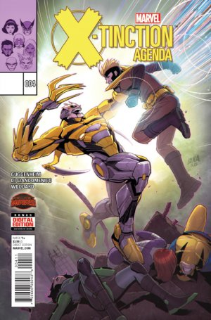 X-men - X-tinction programmée # 4 Issues (2015)