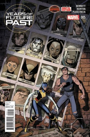 Years of Future Past # 5 Issues (2015)