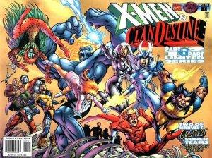 X-men / Clandestine # 1 Issues
