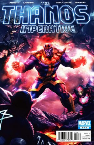 The Thanos Imperative # 3 Issues