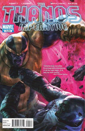 The Thanos Imperative # 4 Issues
