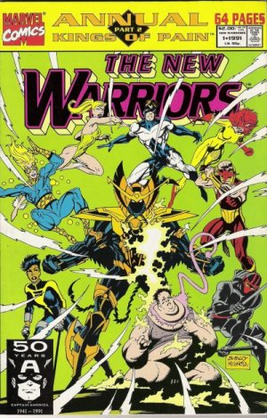 The New Warriors # 1 Issues V1 - Annuals (1991-1994)