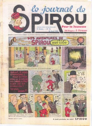 Le journal de Spirou # 53