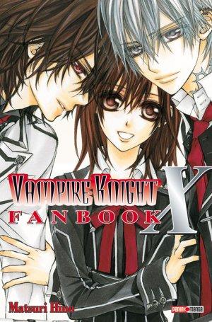 couverture, jaquette Vampire Knight : Officiel Fanbook Cross X   (Panini manga)