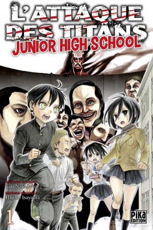 L'attaque des titans - Junior high school édition Simple