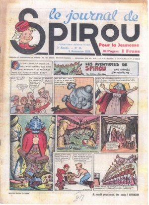Le journal de Spirou # 81