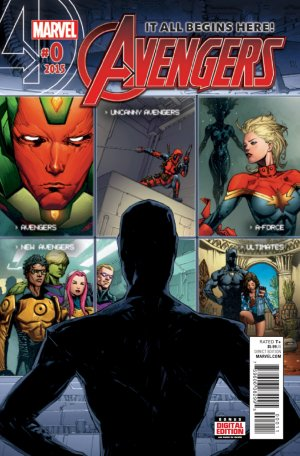 Avengers édition Issues V6 (2015)
