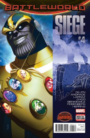 Siege # 4 Issues V2 (2015)