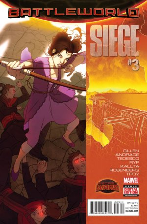 Siege # 3 Issues V2 (2015)
