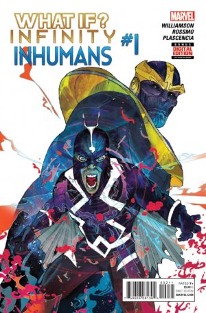What If? Infinity - Inhumans # 1 Issues V1 (2015)