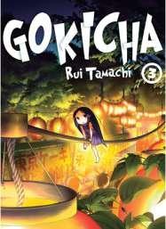 couverture, jaquette Gokicha 3  (Komikku Editions)