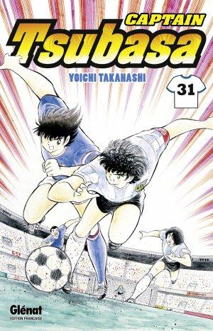 couverture, jaquette Captain Tsubasa 31 Réédition Française (Glénat Manga) Manga