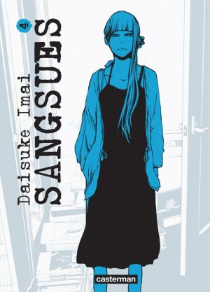 couverture, jaquette Sangsues 4  (casterman manga)