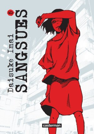 couverture, jaquette Sangsues 5  (casterman manga)