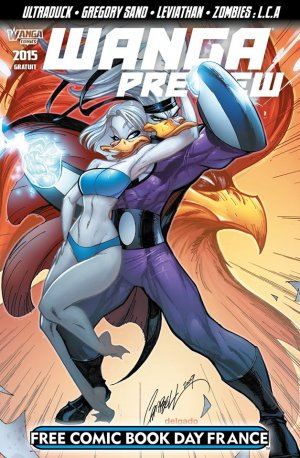 Free Comic Book Day France 2015 - Wanga preview édition Kiosque