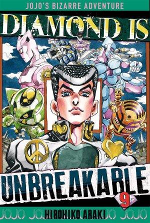 couverture, jaquette Jojo's Bizarre Adventure 9 Partie 4 Diamond is unbreakable (Tonkam) Manga