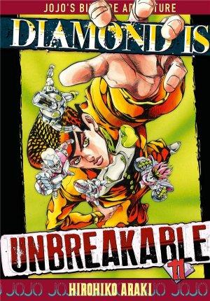 couverture, jaquette Jojo's Bizarre Adventure 11 Partie 4 Diamond is unbreakable (Tonkam)