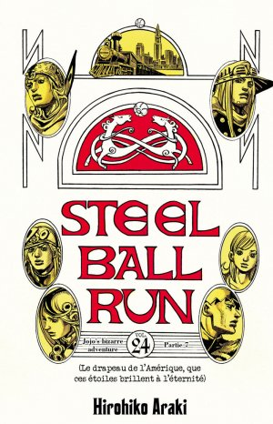 Jojo's Bizarre Adventure - Steel Ball Run T.24