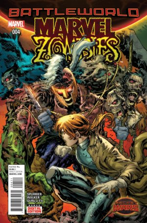 Marvel Zombies # 4 Issues V2 (2015)