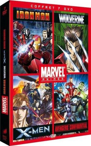 couverture, jaquette Marvel Animés  Coffret (Sony pictures France)