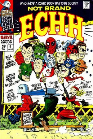 Not Brand Echh # 9 Issues V1 (1967 - 1969)
