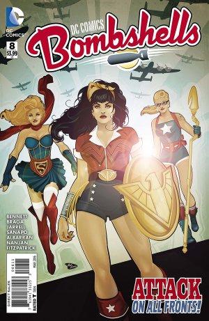 DC Comics Bombshells # 8 Issues