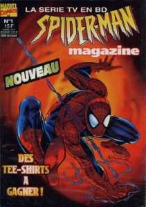 Spider-man Magazine édition Kiosque (1996)