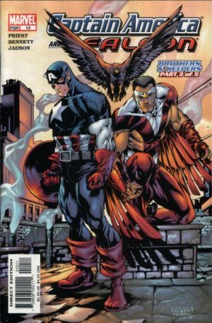 Captain America and the Falcon # 10 Issues V1 (2004 - 2005)