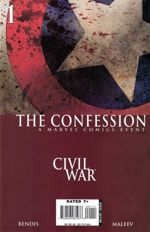 Civil War - The Confession # 1 Issues