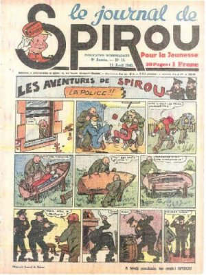 Album Spirou (recueil) # 104