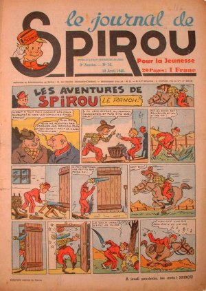 Album Spirou (recueil) # 105