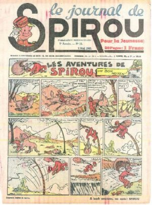 Le journal de Spirou # 107