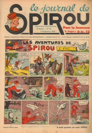 Album Spirou (recueil) # 125