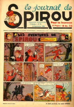 Le journal de Spirou # 126