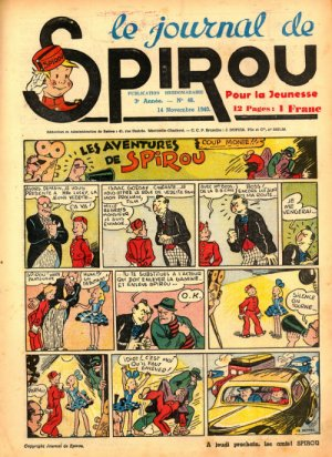 Le journal de Spirou # 135