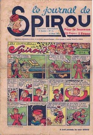 Le journal de Spirou # 152