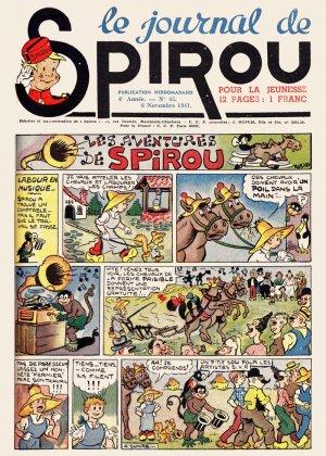 Le journal de Spirou # 186