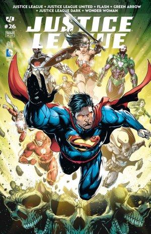 Justice League # 26 Kiosque mensuel