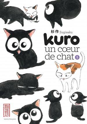 couverture, jaquette Kuro, un coeur de chat 5  (kana)