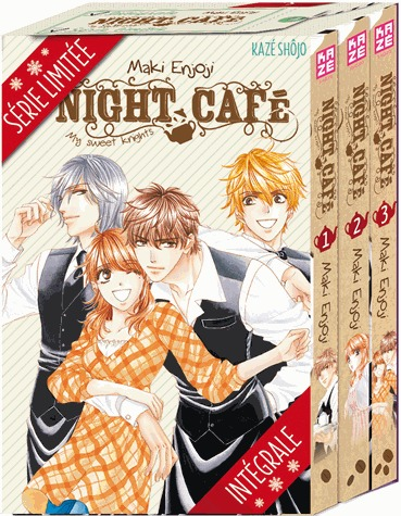 Night café - My sweet knights édition Coffret