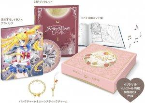 Sailor Moon Crystal édition Blu-ray Limitée