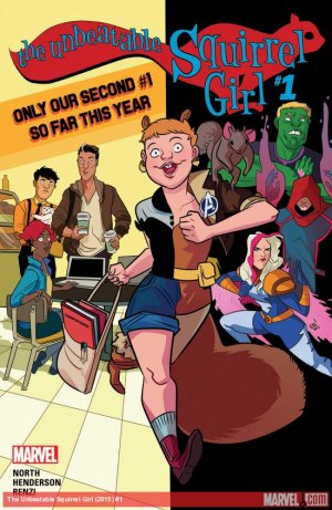 The Unbeatable Squirrel Girl édition Issues V2 (2015 - Ongoing)