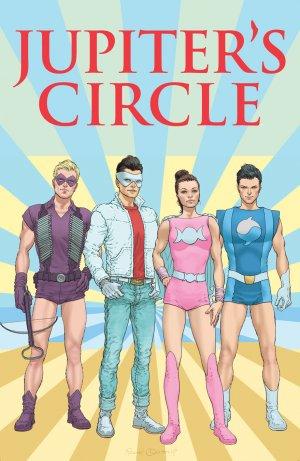 Jupiter's Circle # 4 Issues