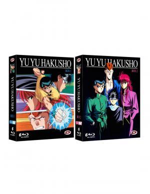 YuYu Hakusho  Intégrale - Collector - Combo Blu-Ray