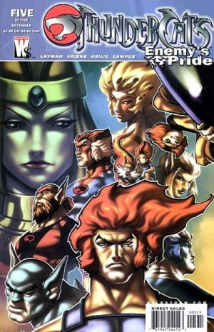 ThunderCats - Enemy's Pride # 5 Issues