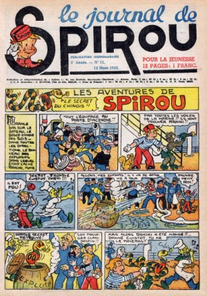 Le journal de Spirou # 204